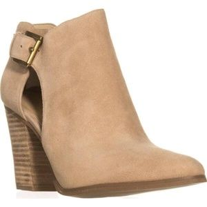 Michael Kors Cut-Out Suede Ankle Boot